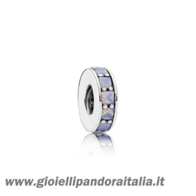 Vendita Distanziatori Charms Eternita Distanziatore Cristallo Bianco Opalescente On Line