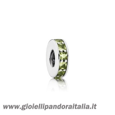 Vendita Distanziatori Charms Eternita Distanziatore Cristallo Verde Oliva On Line