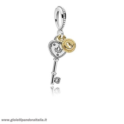 Vendita Chiave To My Cuore Dangle Charm On Line