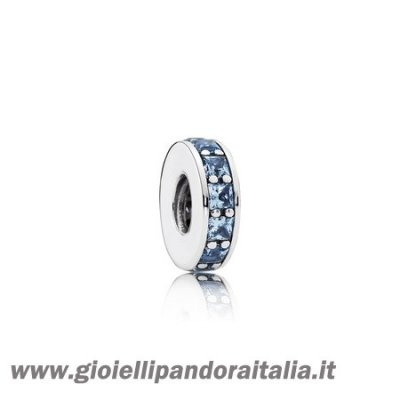 Vendita Distanziatori Charms Eternita Distanziatore Cristallo Blu Cielo On Line