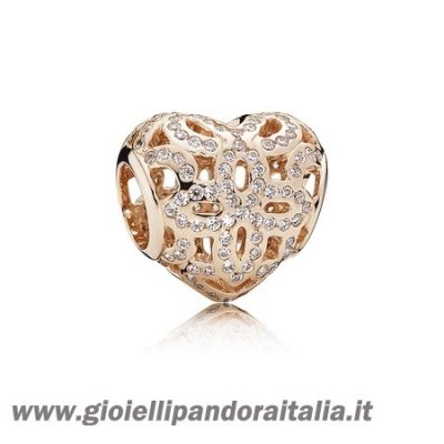 Vendita Simboli D'Amore Charms Amore Appreciation Charm Pandora Rose Chiaro Cz On Line